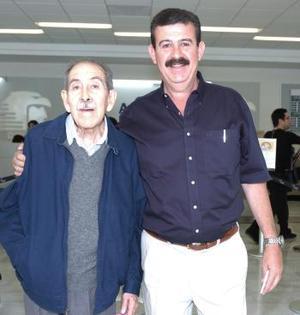 Humberto y Luis Rosas viajaron al DF