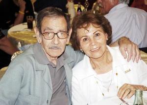 José Díaz Casas y Juanita Mejía de Díaz.