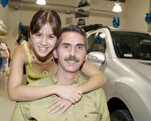 Lorena Murra y Juan Antonio Murra.