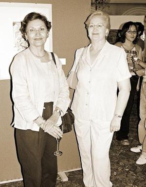 Claudia Máynez y Querube Lizárraga.