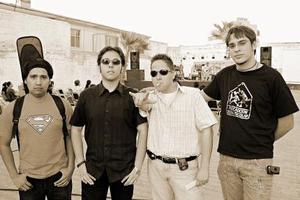Andrés Sánchez, Leonardo Hernández, Raúl Martínez y Miguel Samper.