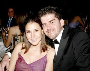 Ana Isabel de Mexsen y Omar Mexsen.