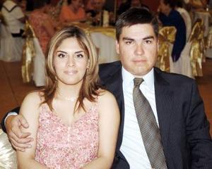 Brenda Escanadón de Aguado y Luis Gerardo Aguado.