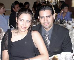 Claudia Herrera y Édgar Escobedo.