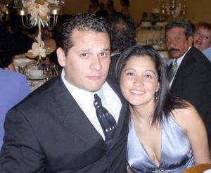 Heriberto Flores y Cecilia González.