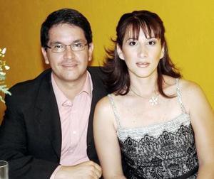 Karla Córdova y Alfonso Tafoya.