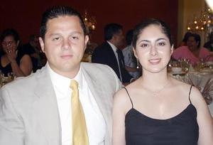 Luis Sarmiento e Hilda Burgos.