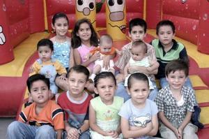 Valeria y Daniel Rodríguez Saldivar festejaron sus respectivos cumpleaños, con un alegre convivio infantil al que asistieron sus amiguitos para felicitarlos.
