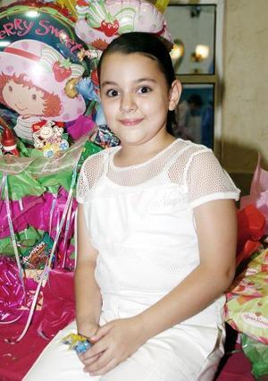 Ana Paula Morando Jaime, captada el día de su piñata.