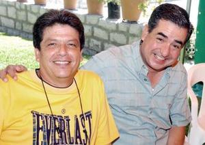 Héctor Cruz Moreno y Lázaro Bello.