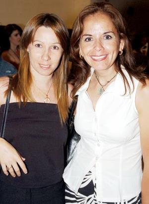 Pecky Webb y Ana Carreño.