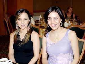 Ale Nahle de Mijares y Sofía de Mijares.