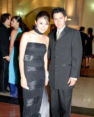 Julia Medina y Jesús Turcios.