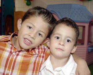 Allan Perches y Miguel Teja.
