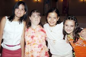 Bárbara Soto, Celia Castañeda, Ana Luz Russek y Marle Papadópulos.
