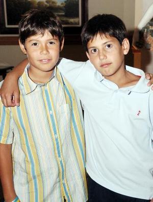 Roberto Martínez y Fernando Bujdud.