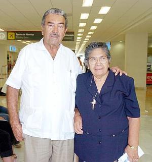 Donato Castro e Irene Martínez Viajaron a Cancún.
