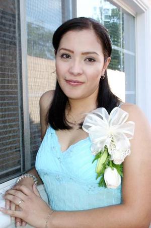Angélica Rendón Álvarez, captada en su despedida de soltera.