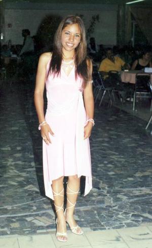 Ana Laura Albino Sánchez, el día de su graduación de preparatoria.