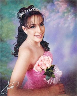 Daniela Zayas Navarro, el día de sus quince años.