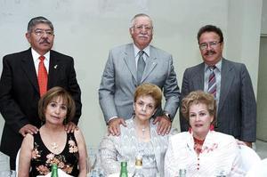 José Ortiz, Susy de Ortiz, Salvador y Elenita Álvarez, Alfonso y Lily Amador.