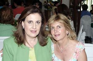 Blanca de Zarzar y Paty de Murra.
