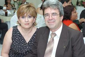 Mary Cruz y Héctor Aguirre.