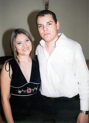 Alejandra Martínez y Efrén Cázares Olvera.