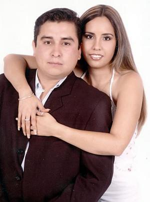 Enrique Gámez y Laura Samantha Fernández.