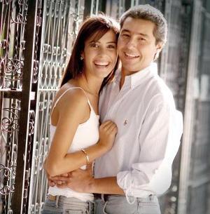 <b>02 de julio</b><p> Gabriela Barrón Olvera y Víctor Moreno Rodríguez.