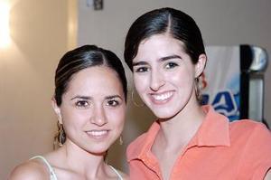 Ana Lucía García y Cristy Berlanga