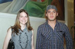 Bethany Mc Curley y Jaime Salazar.