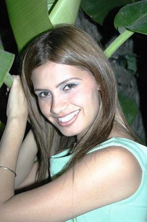 Lorena Vázquez Alfaro celebró su cumpleaños en días pasados, con una agradable reunión.