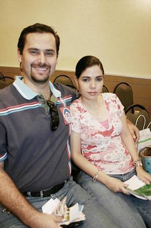 Jesús Orduña Muñiz y Elena Eppen de Orduña, captados recientemente.