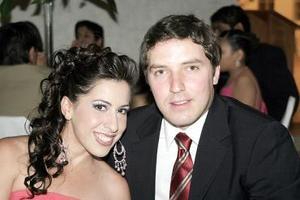 Liliana Montellano y Daniel Berumen.