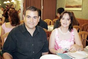 Heberto Villarreal y Rocío de Villarreal
