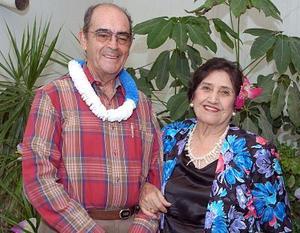 Don Roberto Núñez y Juanita de Núñez.