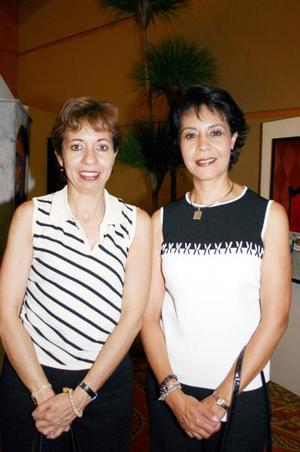 Gilda Urbina y Mayela Ramírez.
