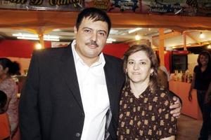 Miguel Chibli Navarro y Martha Campos de Chibli.