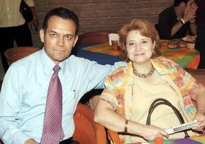 Rafael Ramos Herrera y Beatriz Sotelo de Ramos.