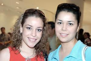 Verónica Martínez y Ryby Durán.