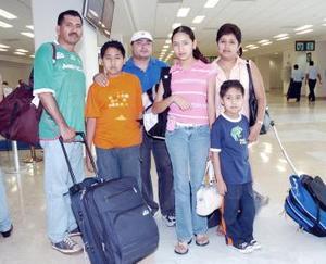 La familia Tapia Pino viajó a Veracruz.