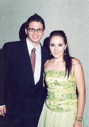 José Antonio Jáuregui y Georgina Martínez.
