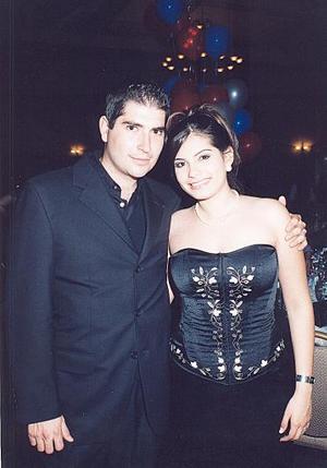 Óscar Navarrete Sordo y Laura Abraham G.