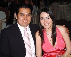 Carlos García y Elisa Esperanza.