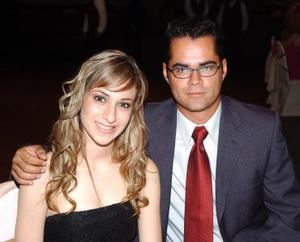 Elizabeth Gibert y Enrique Galindo.