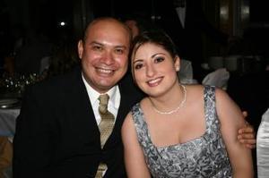 Mauricio y Zaira Silos.