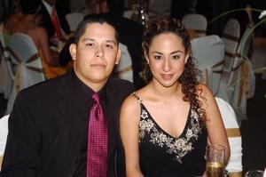 Ricardo Moreno y Tania Mansur.