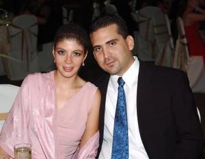 <b>06 de julio</b><p>  Roxana Montañés y Gilberto Ruedas.