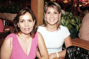 Laura Salas y Rocío García.